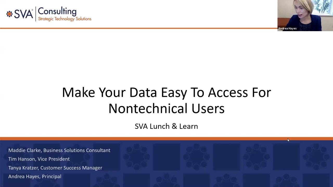 Make Your Data Easy to Access for Non-Technical Users